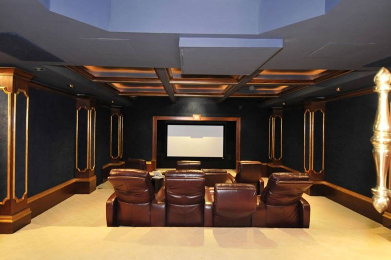 Home Theater | Credit: William Raveis Realty