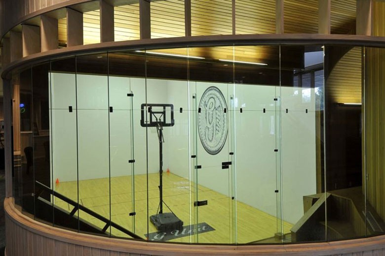 Indoor Basketball Court | Credit: William Raveis Realty