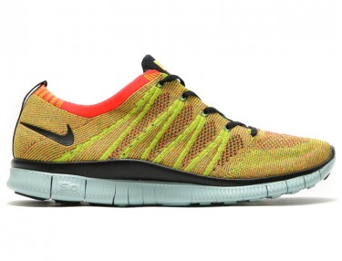 Nike Free Flyknit NSW - Bright Crimson