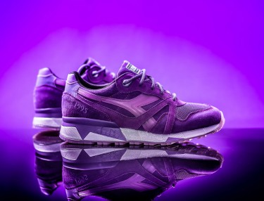 Packer Shoes x Diadora N.9000 - Purple Tape