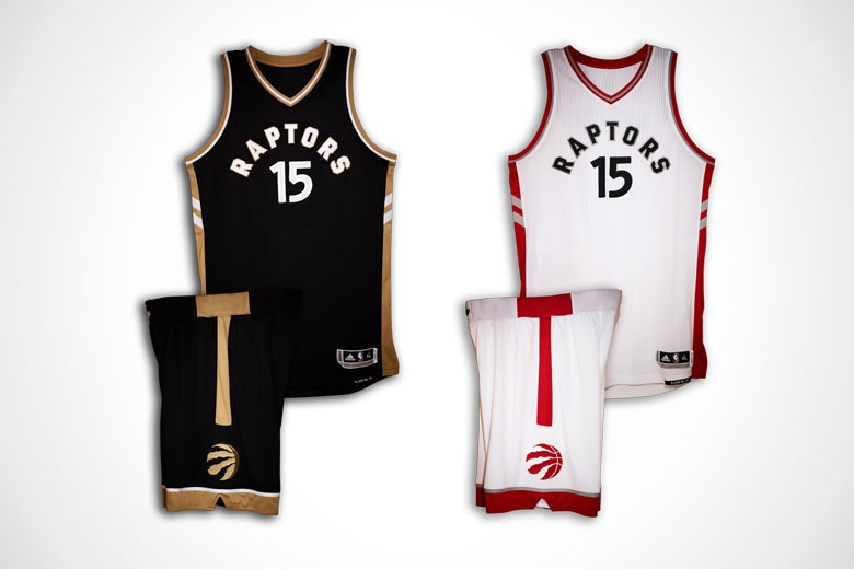 Toronto Raptors Uniforms - Away Alternate and Home