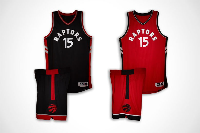 Toronto Raptors Uniforms - Away Alternate and Away
