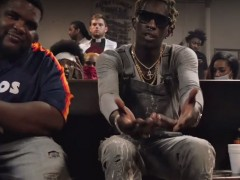 Young Thug ft. Gucci Mane – Again (Video)