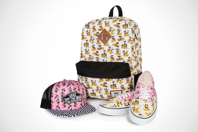 Vans Offers Customizable Disney Prints For 'Young At Heart' Collection