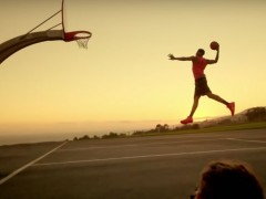 "Red Bull Taps Anthony Davis To ""Dunk The Sun"""
