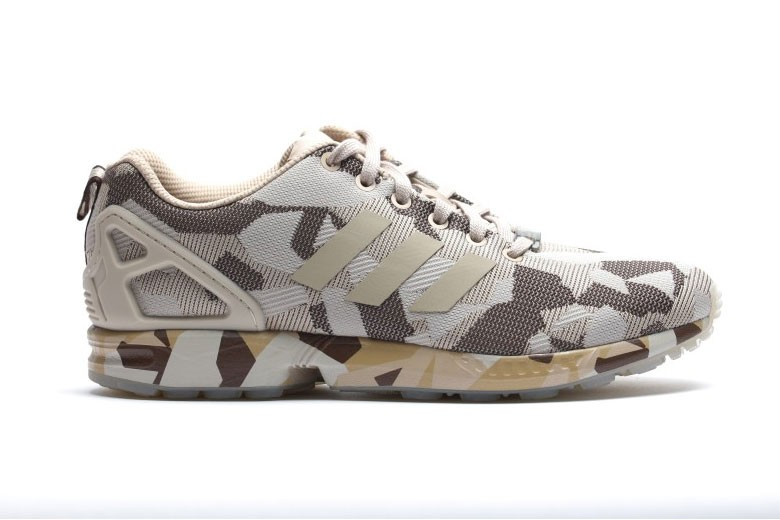Adidas ZX Flux Camo Brown