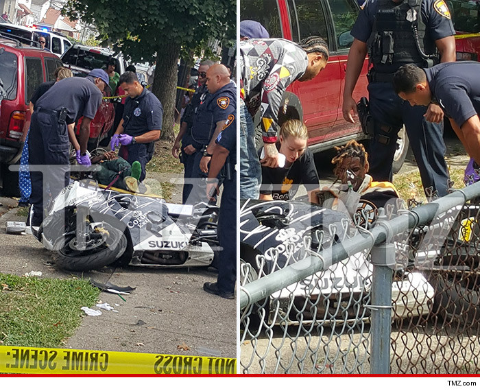 Fetty Wap Injured In Scary Motorcycle Accident