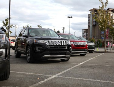 Driving The 2016 Ford Explorer Platinum Edition In British Columbia