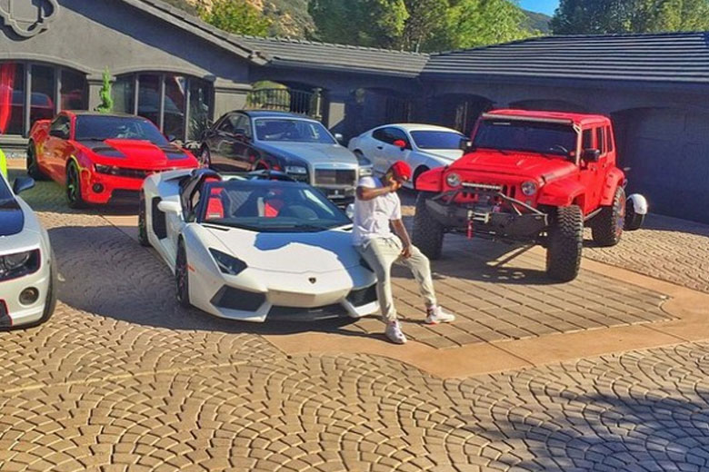 Game and his cars