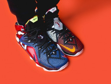 Nike LeBron 12 - What The