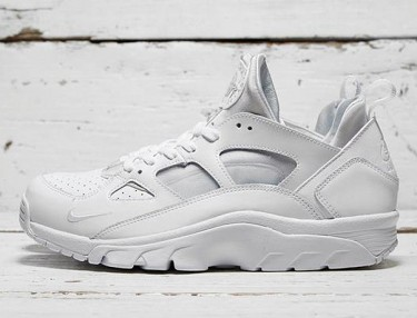 Nike Air Trainer Huarache Low - Triple White