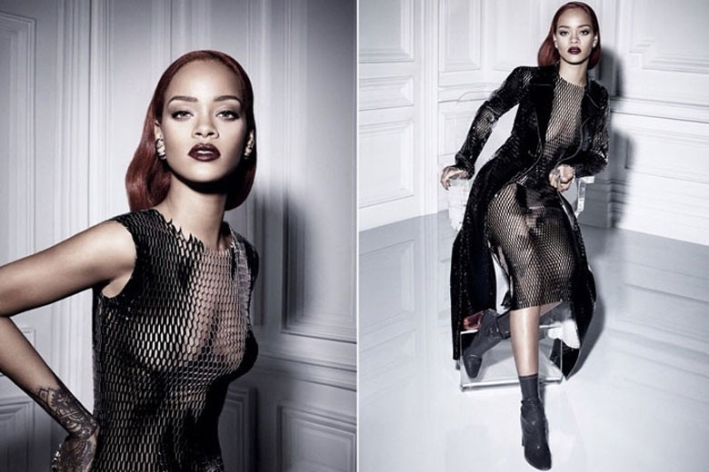 Rihanna For Dior Fall 2015