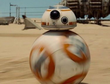 Sphero's Star Wars BB-8 Droid In Action