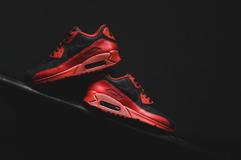 Nike Air Max 90 Winter PRM Gym Red/Black