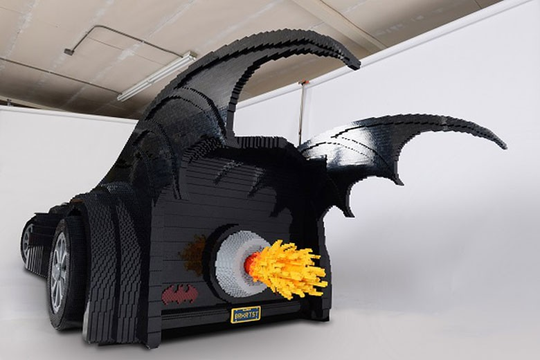 LEGO Batmobile by Nathan Sawaya