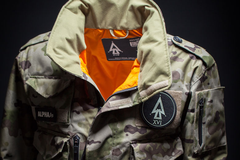 Alpha Industries x Undefeated x Burton 2015 Capsule