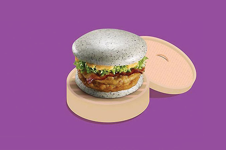McDonald's Gray Burger