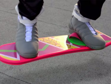 Official Hoverboard Commercial from 'Back To The Future'