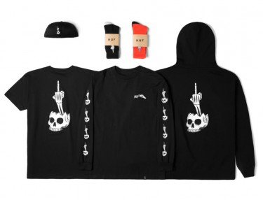 Todd Francis x HUF 2015 Halloween Pack