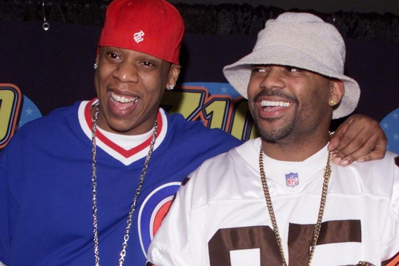 Jay Z and Damon Dash