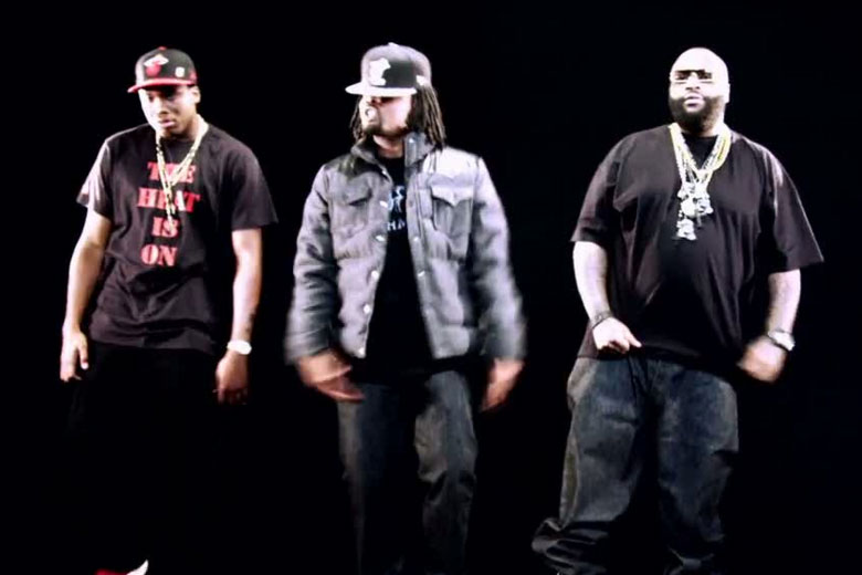 Meek Mill, Wale and Rick Ross