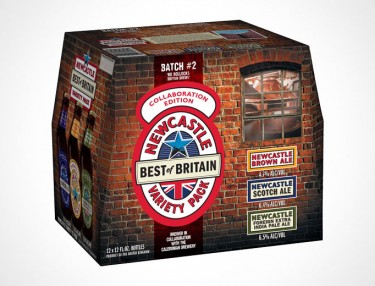 Newcastle Brown Ale Debuts Best Of Britain Variety Pack