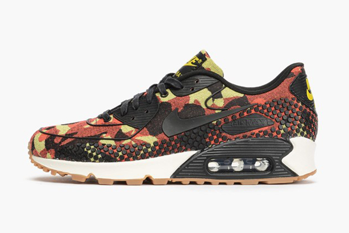 Nike WMNS Air Max 90 JCRD - Bright Crimson