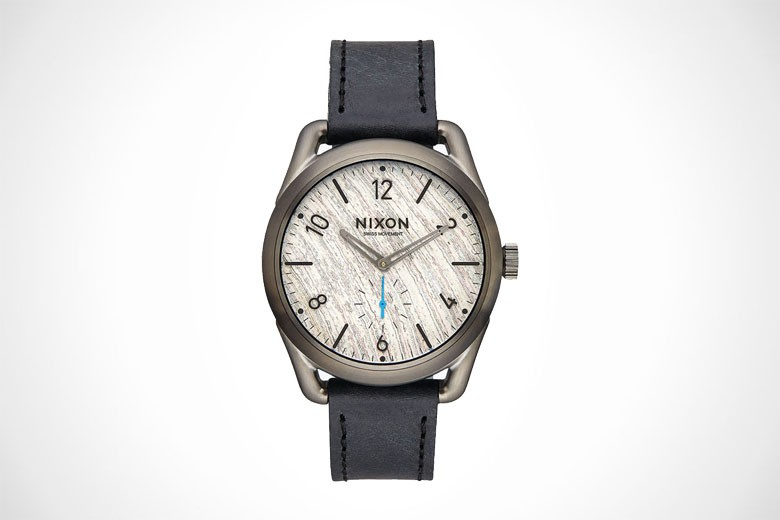 Nixon For Barneys C39 Leather Watch