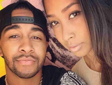 Omarion and Apryl Jones