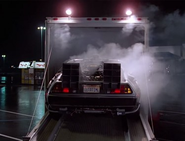Original DeLorean From 'Back To The Future' Restored