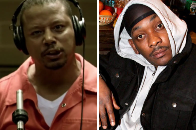 Terrence Howard and Petey Pablo