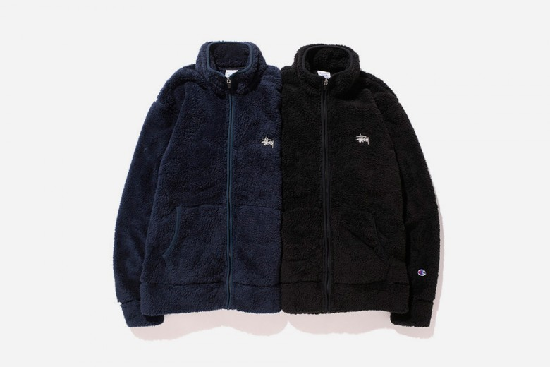 Stussy x Champion Fall/Winter 2015 'Fleece' Collection
