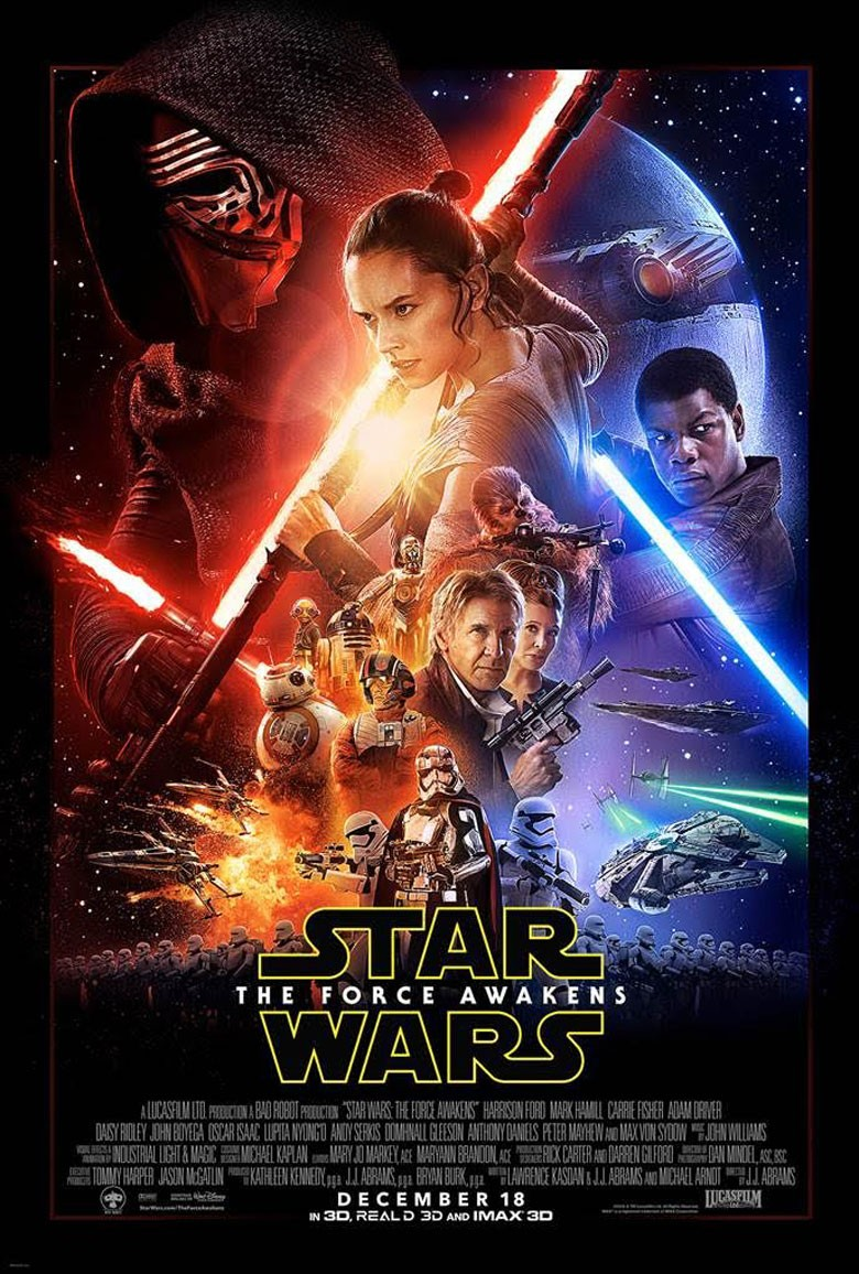 Star Wars: The Force Awakens - Movie Poster
