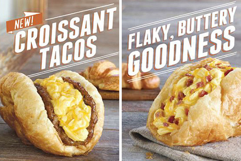 Taco Bell Introduces The Croissant Taco