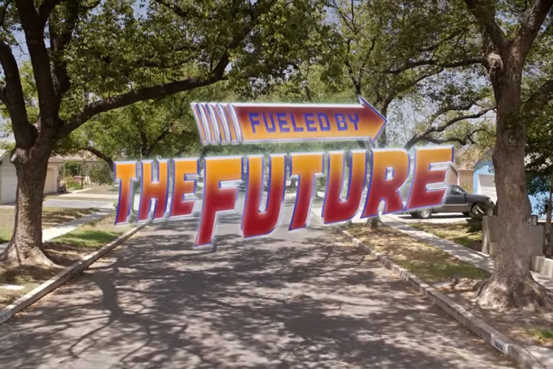 Toyota Mirai x Back To The Future: Fueled By The Future