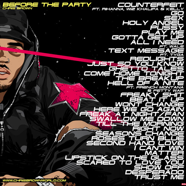 Chris Brown - Before The Party (Mixtape)
