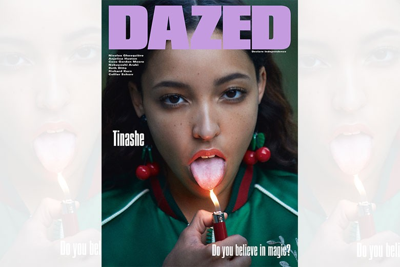 Tinashe Covers Dazed's Winter 2015 Issue