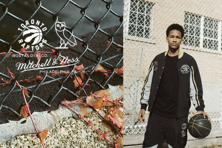 OVO x Toronto Raptors x Mitchell & Ness 2015 Winter Lookbook