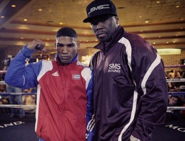 50 Cent and Yuriorkis Gamboa