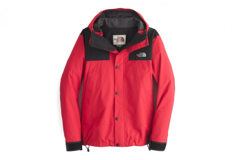 J.Crew x The North Face Mountain Jacket