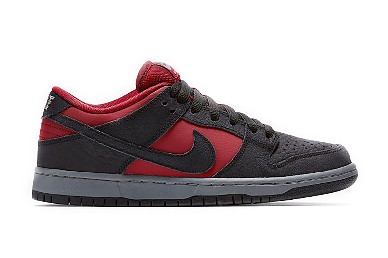 Nike SB Dunk Low Red Wine
