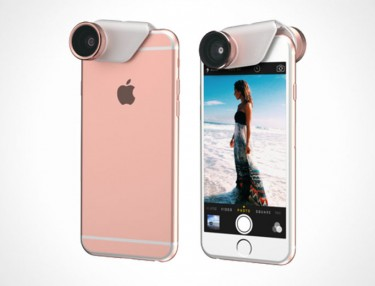 Olloclip 4-In-1 Lens Rose Gold