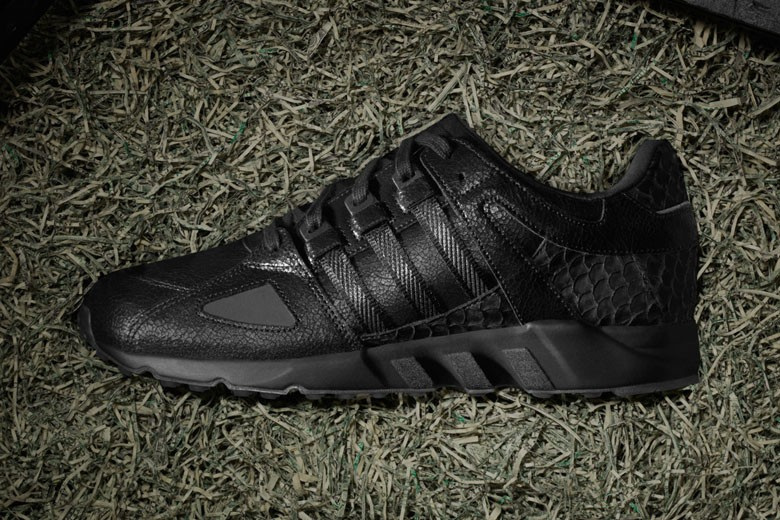 Pusha T x Adidas EQT Running Guidance 9 Black Market