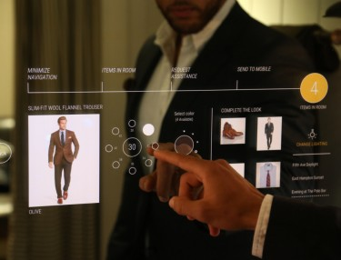 Ralph Lauren Interactive Fitting Rooms