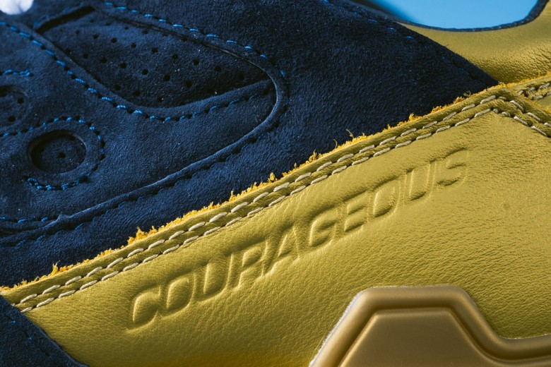 Sneaker Politics x Saucony Courageous - Battle of Nola
