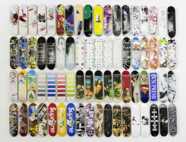 Check Out This $100K Private Skateboard Collection