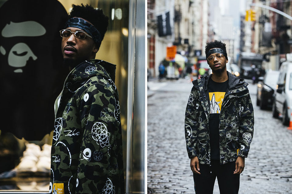 BAPE x Futura Capsule Collection Lookbook