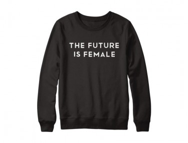 Cara Delevingne x Represent 'Future Is Female' Crewneck