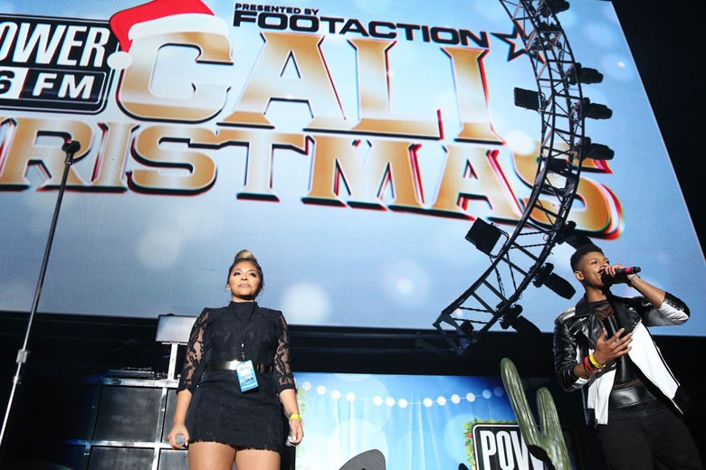 Footaction x Power 106 Cali Christmas 2015