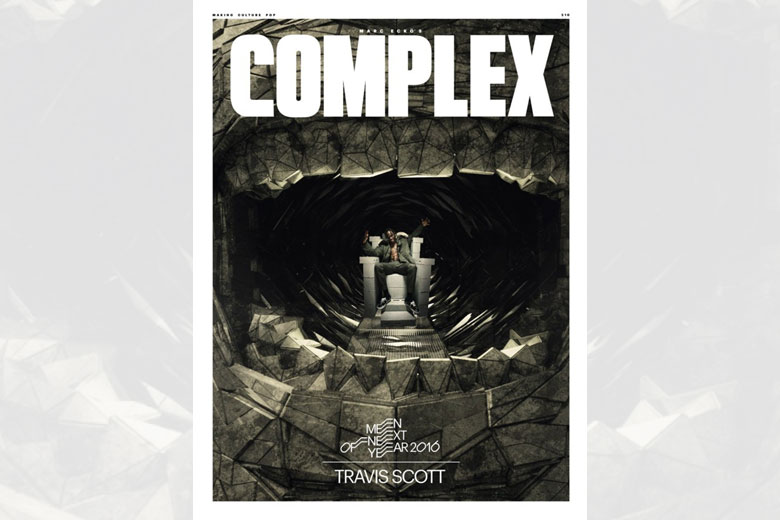 Travis Scott covers Complex